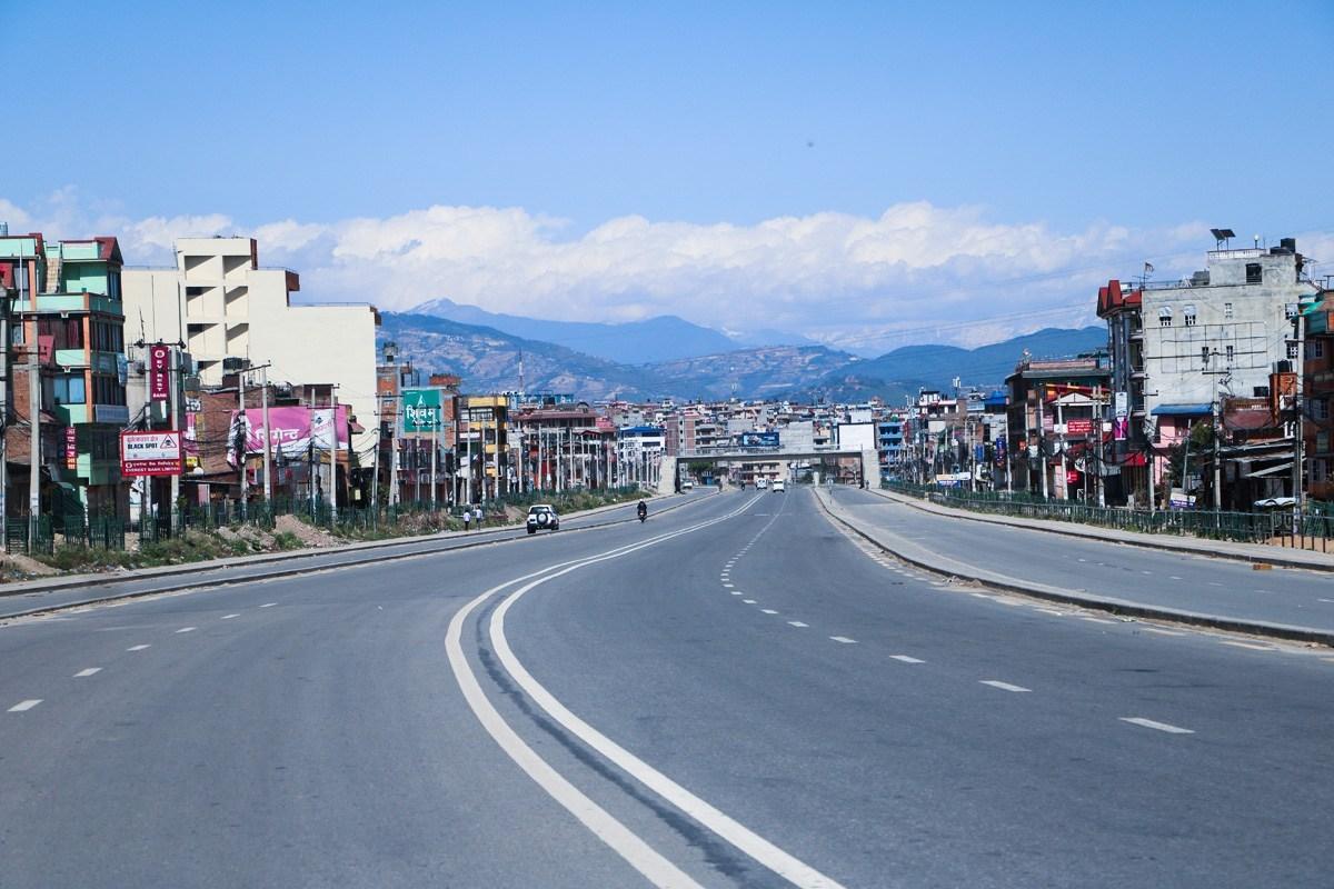 Lockdown in Kathmandu, Nepal